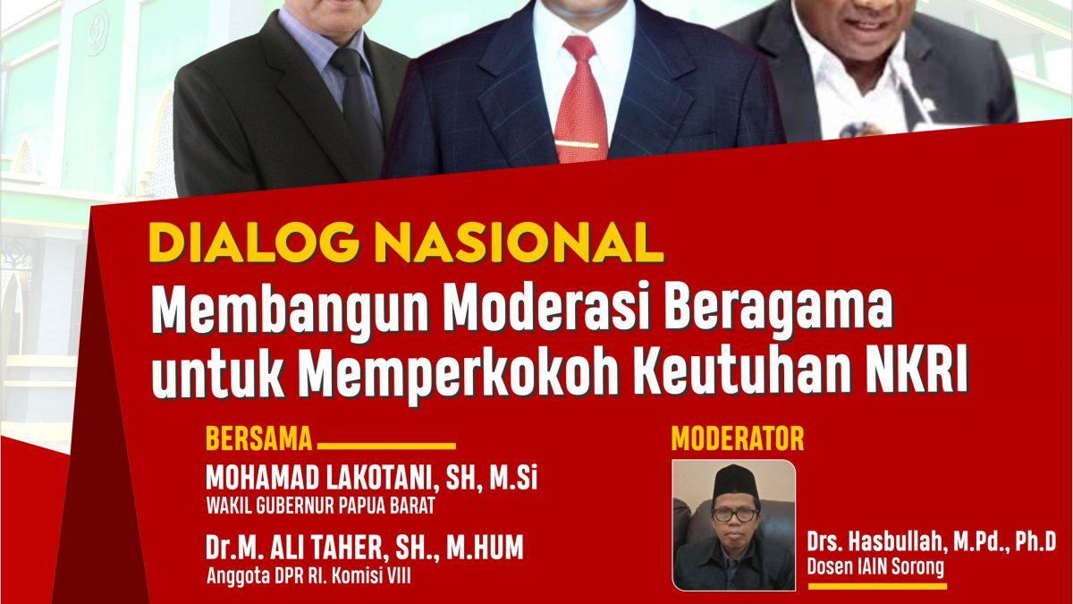 IAIN Sorong Mengundang Berbagai Tokoh Membahas Moderasi Beragama